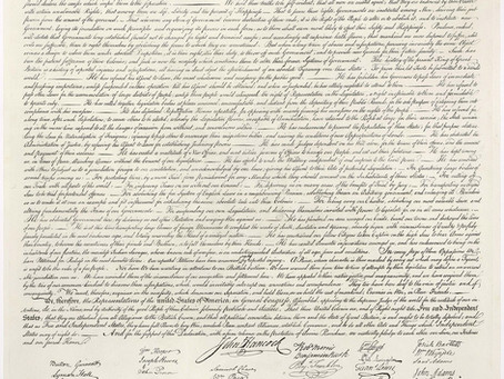 The unanimous Declaration of the thirteen united States of America (Declaration of Independence)