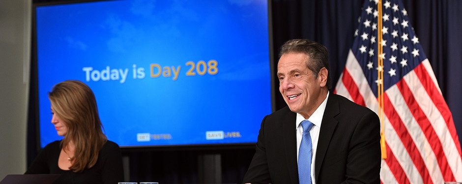 Governor Cuomo Updates New Yorkers on State's Development During COVID-19 Pandemic