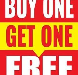 Customer Service Improvement Idea: Buy One, Get One