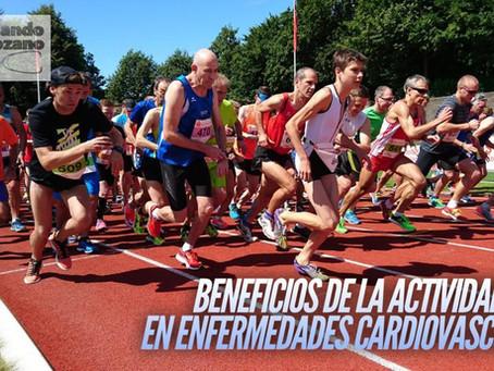 Beneficios de las actividades físicas en enfermedades cardiovasculares.