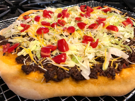 Kids In The Kitchen: Taco Pizza