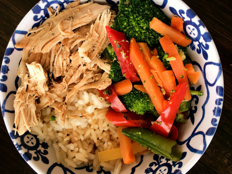 Ginger and Lime Chicken Rice Bowls