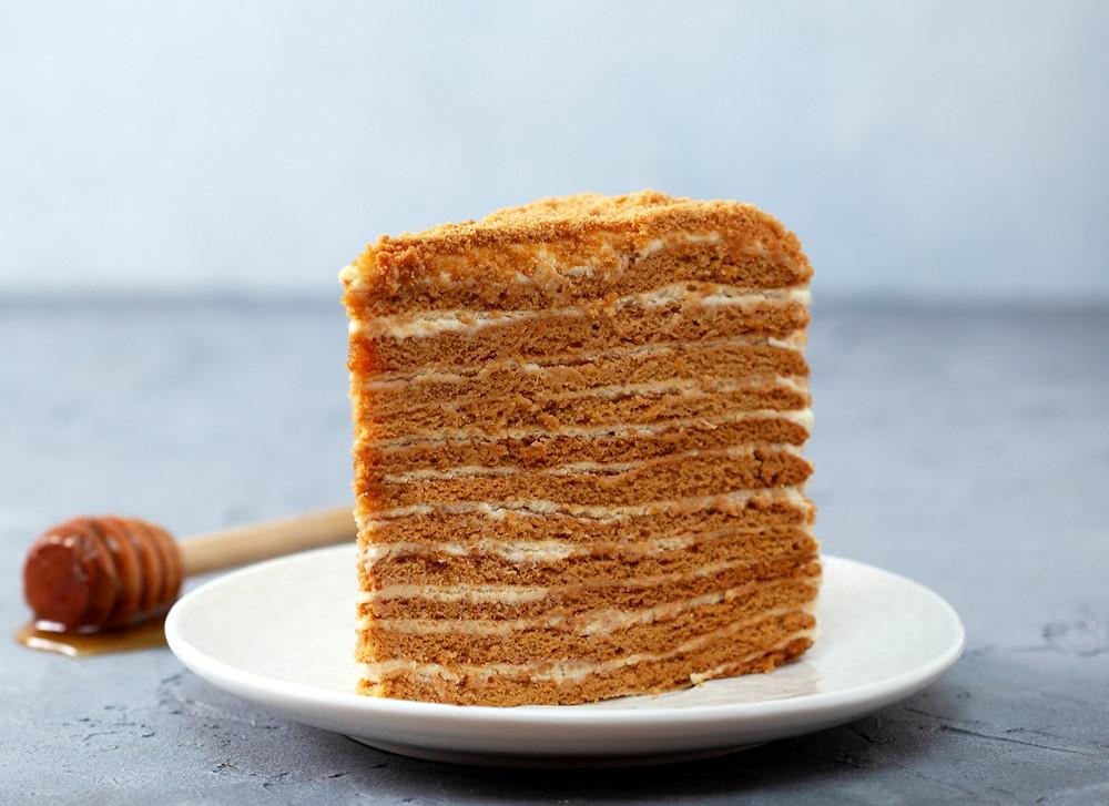 Medaus tortas, receptai, kepiniai, Alfas Ivanauskas