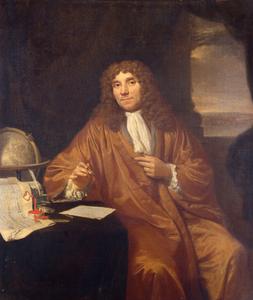 Seventeenth-century portrait of Antonie van Leeuwenhoek by Jan Vercolje.