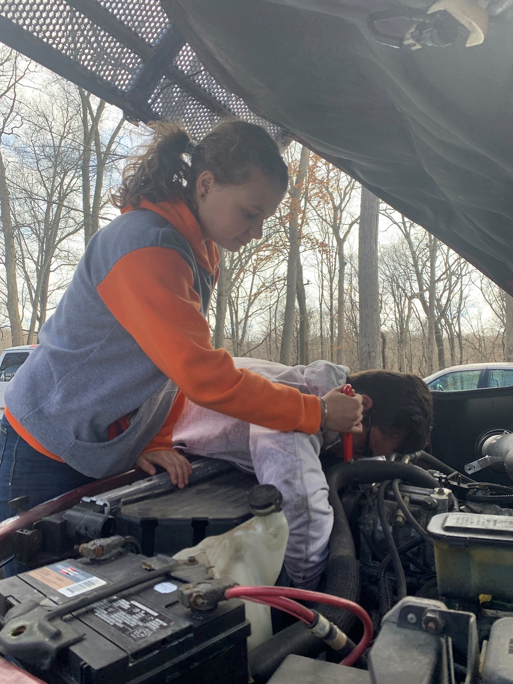 teens should know how to change a tire, change their oil, and jumpstart their cars