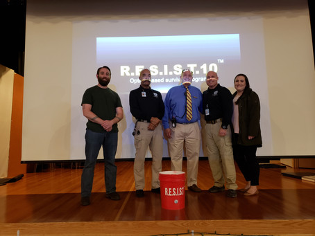 Institute of Notre Dame receives RESIST10 Proficiency Rating during Active Shooter training.