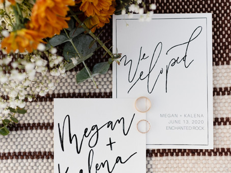 How to tell your wedding guests that you eloped instead