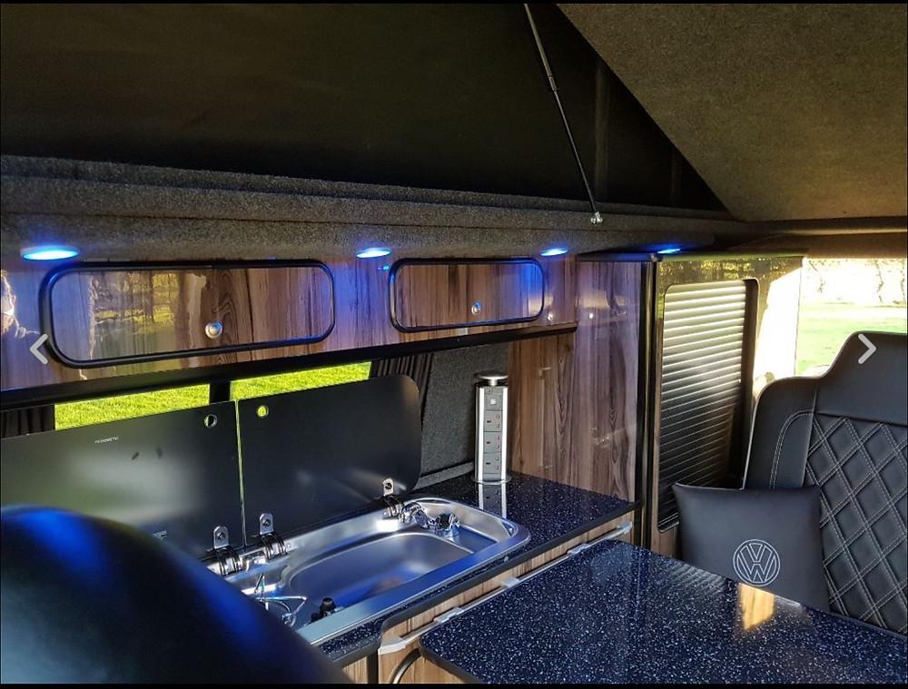Bespoke campervan Interior