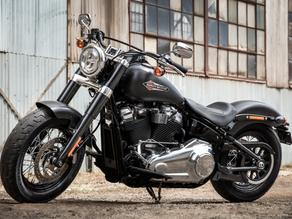 A fiel representante do segmento bobber no line-up da Harley-Davidson.