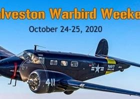 Galveston Warbird Weekend! Oct. 24-25, 2020