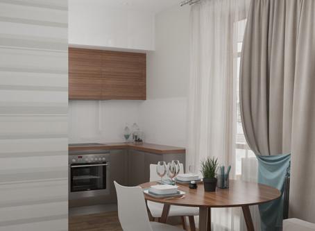 Проект квартиры в городе Тюмень