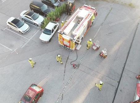 Feuerwehr Stadt Bad Aibling nimmt den Übungsbetrieb wieder auf