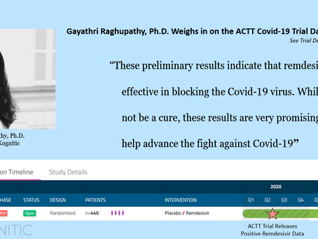 ACTT Trial Results Indicate Remdesivir's Efficacy Against Covid-19