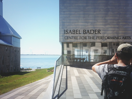 Modern architecture in Kingston: Isabel Bader Performing Arts Center