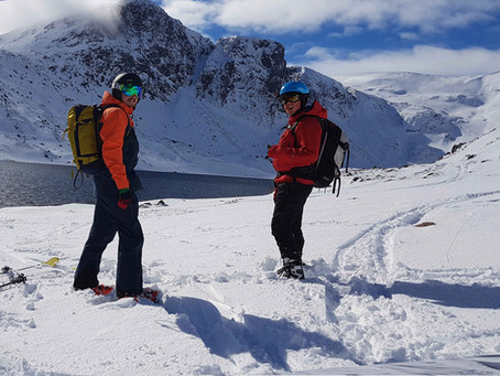 Ski Mountaineering in the Cairngorms, does it come much better??