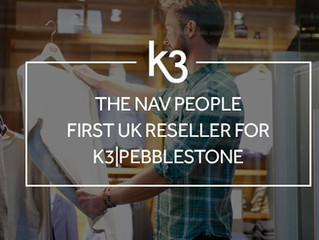 The NAV People becomes first UK reseller for K3|pebblestone