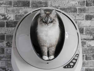 Litter-Robot 3 Connect – Self-Cleaning Smart Cat Litter Box