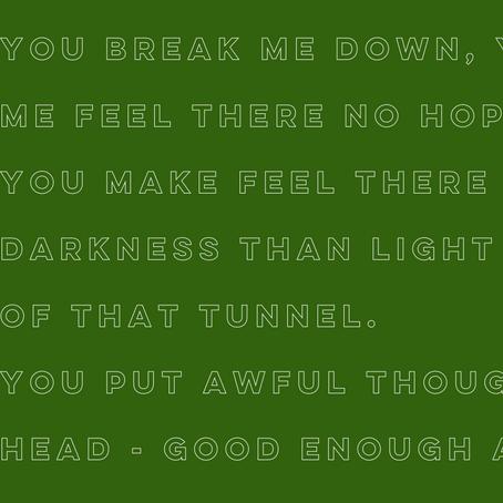 Mental illness poem - Richard Venning