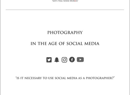 Photography In The Age Of Social Media