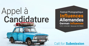 FESTIVAL PHOTOGRAPHIQUE INFLUENCES - APPEL A CANDIDATURES / CALL FOR ENTRIES
