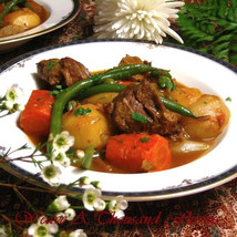 Navarin D'Agneau Printanier | Lamb Navarin with Spring Vegetables