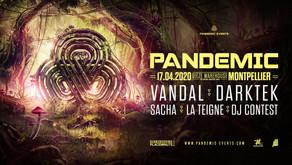 Vandal & Darktek à Montpellier