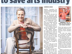Marta Joins the Cast to Save Arts Industry