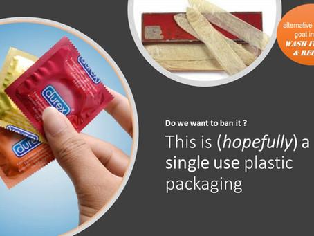 single use plastic, still needed ?