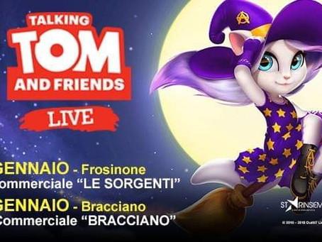 TALKING TOM DEBUTTA IN ITALIA