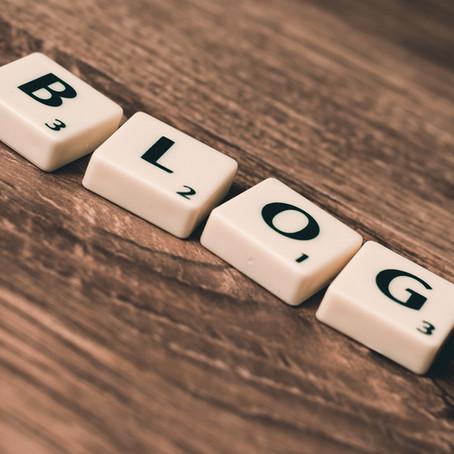 Let's blog!↡