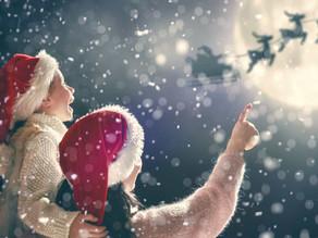 É essencial acreditar no Pai Natal!
