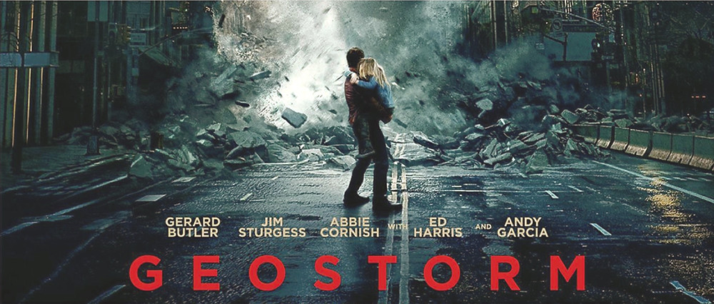 FILE PHOTO: A Poster of GEOSTORM (2017).  ©Warner Bros. Entertainment, Inc.