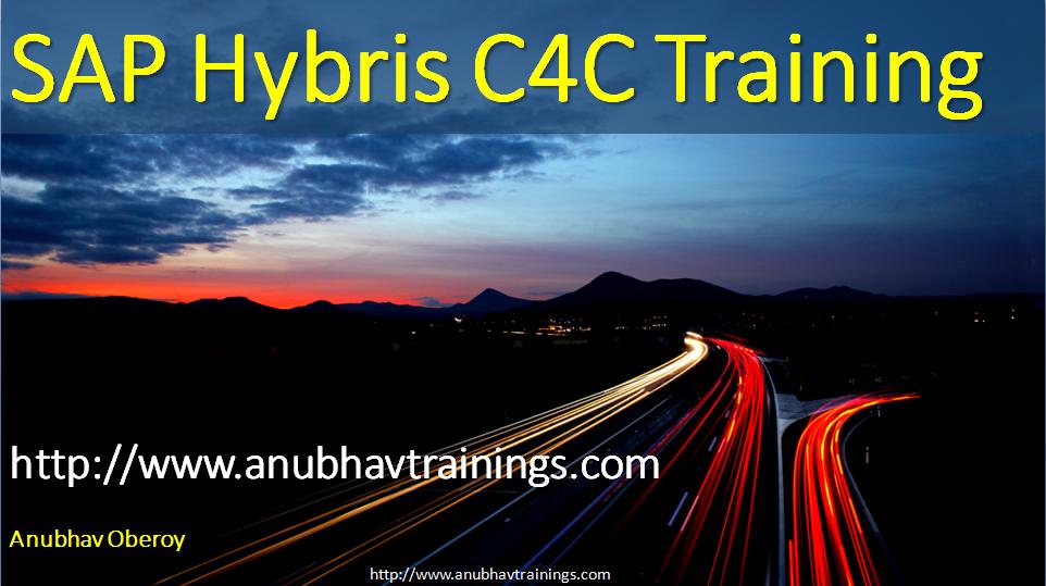 Hybris c4c tutorial