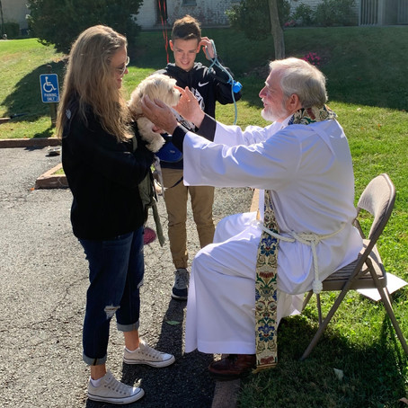 Blessing of the Animals: Saturday, Oct. 3, 11 a.m.