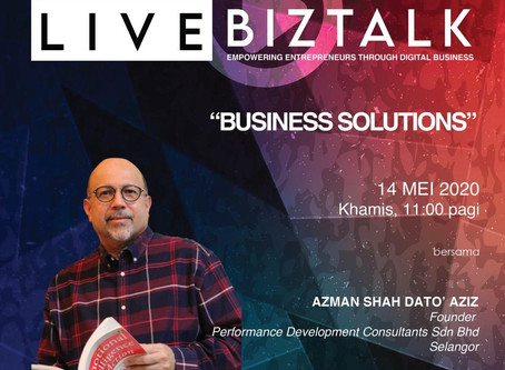 Business Solutions Biztalk with Pembangunan Usahawan MARA