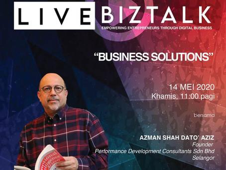 Business Solutions Biztalk with Pembangunan Usahawan MARA