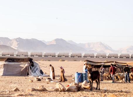 Encontrando esperança no Deserto do Negev