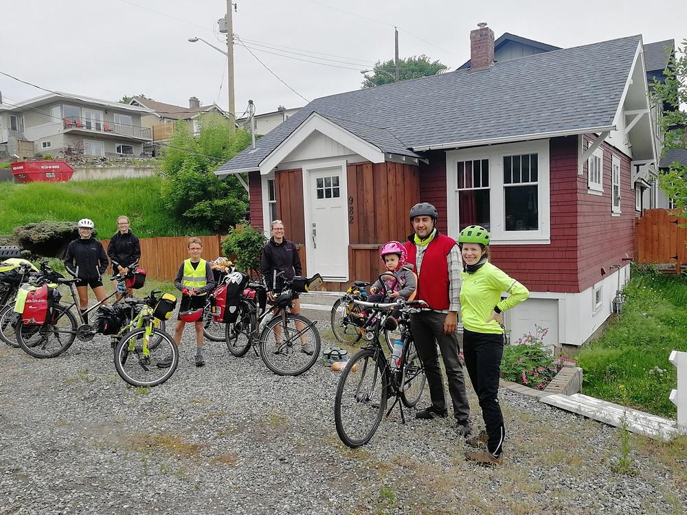 Tour du monde à vélo en famille canada warmshowers