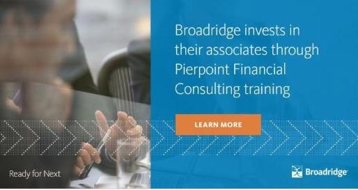 Broadridge SFCM appoints Pierpoint Financial Training