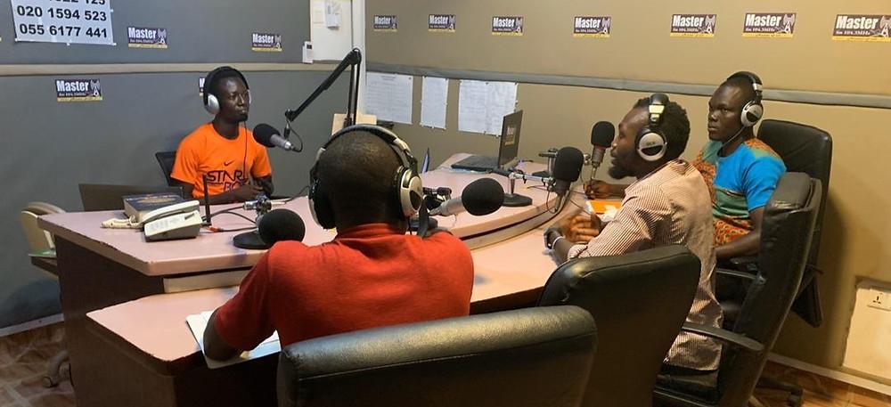 Radio Schooling in Ghana