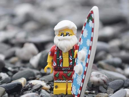 Santa in Hawaii