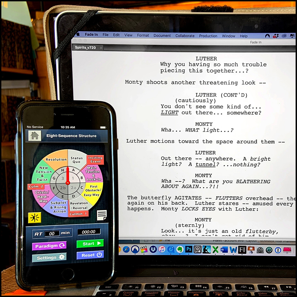 Story Compass app for screenwriters