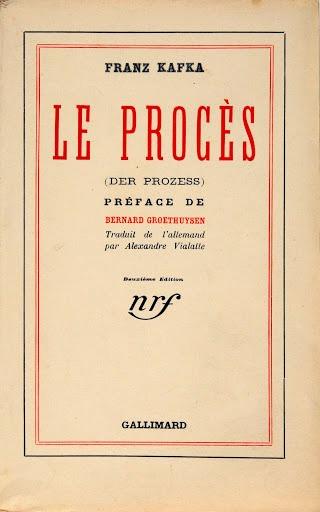 Le proces couverture