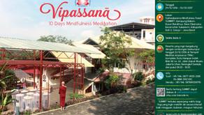 Retret Meditasi Vipassanā 2016 - 10 hari