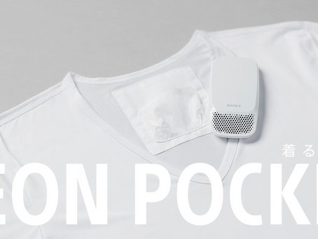 Sony Reon Pocket  (wearable air conditioner)