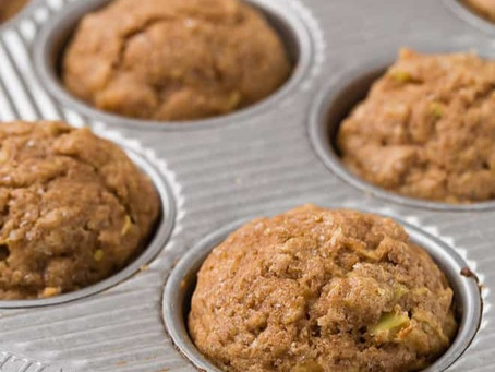 Hearty Apple Cinnamon Muffins