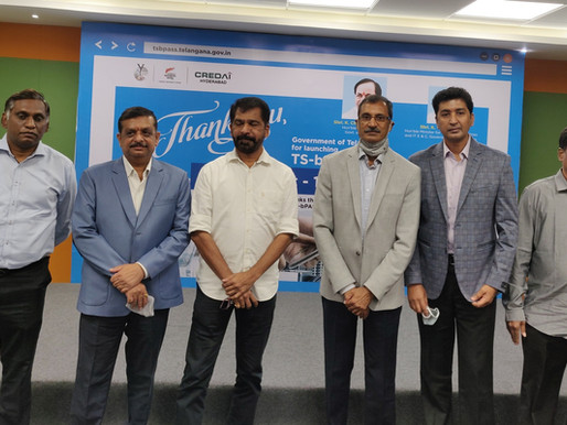 CREDAI Hyderabad welcomes TS-bPASS