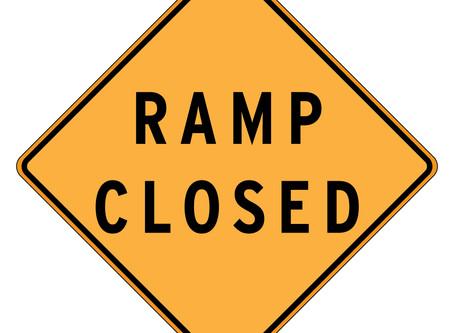 Ramp closures June 29-July 3
