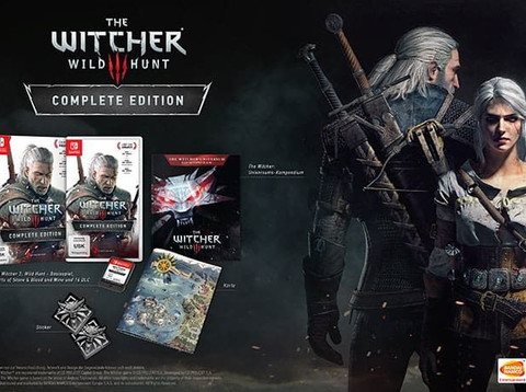 The Witcher 3: Wild Hunt Complete Edition für Switch enthüllt