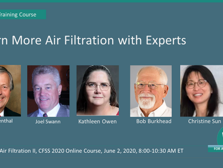 June 2, 2020 – Learn More Air Filtration with Experts